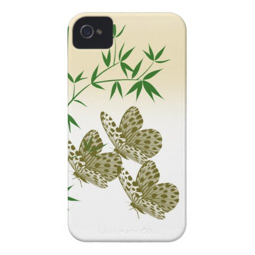 Bamboo Butterflies Hard Shell for Blackberry Blackberry Bold Covers