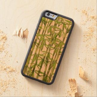 Bamboo Carved ® iPhone 6 Bumper Wood Case Cherry iPhone 6 Bumper Case