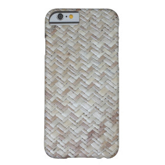 Bamboo chevron zigzag zig zag pattern wood photo barely there iPhone 6 case
