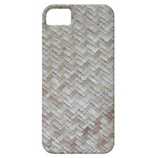 Bamboo chevron zigzag zig zag pattern wood photo iPhone 5 case