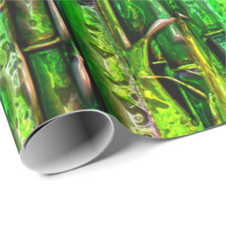 Bamboo Chrome 1 Wrapping Paper