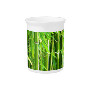 Bamboo Drink Pitcher