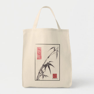"""Bamboo """"Extend Yourself"""" SumiSack Tote Bag"""
