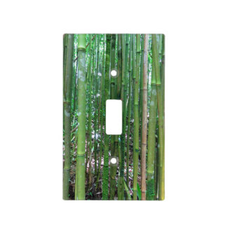 Bamboo Forest Light Switch Cover