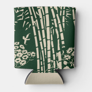 Bamboo Forest--Old Japanese Art Can Cooler