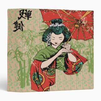 bamboo geisha girl notebook-01 binders