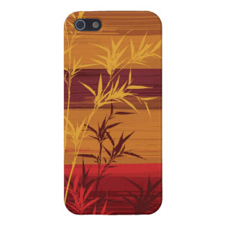 Bamboo Impasto Painting iPhone 5 Cases