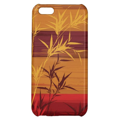 Bamboo Impasto Painting Cover For iPhone 5C
