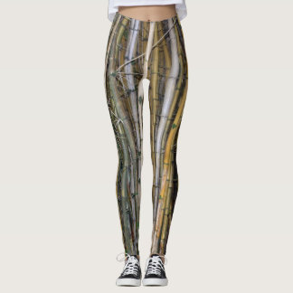 Bamboo in Hilo, Hawaii Leggings