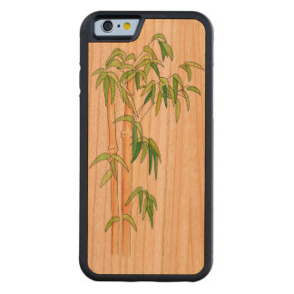Bamboo Iphone 6 Case Carved® Cherry iPhone 6 Bumper Case