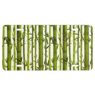 Bamboo Lessons License Plate