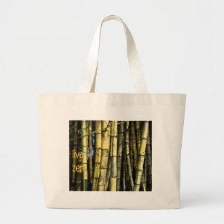 Bamboo live zen bag