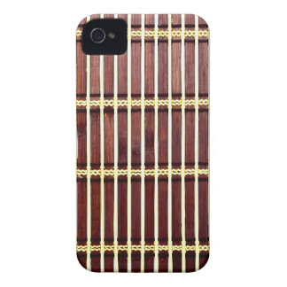 bamboo mat texture Case-Mate iPhone 4 cases