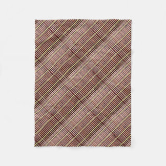 bamboo mat texture fleece blanket