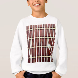 bamboo mat texture sweatshirt