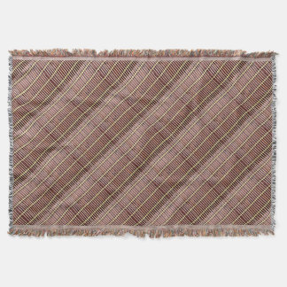 bamboo mat texture throw
