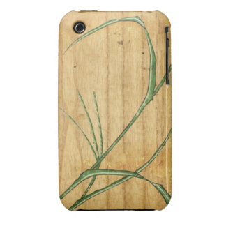 Bamboo on wood iPhone 3 cases