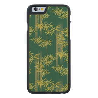 Bamboo Ornament Carved® Maple iPhone 6 Case