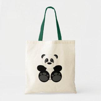 Bamboo Panda Bear Tote Bag