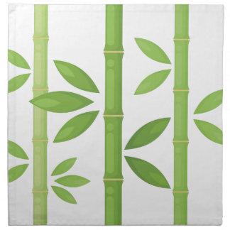 Bamboo Plant Napkin