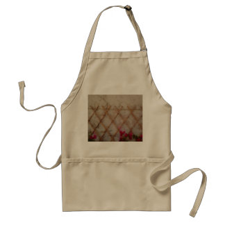 Bamboo plant support standard apron