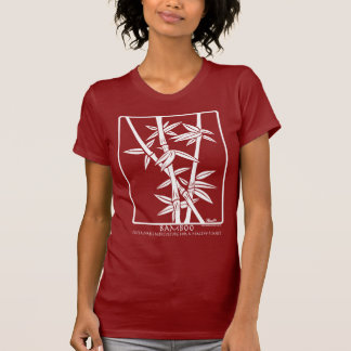 Bamboo Plant - (white on dark colors) T-Shirt