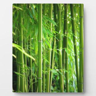 Bamboo Plaque