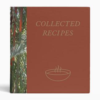 Bamboo Recipe Binder
