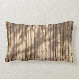 Bamboo Shadows Pattern Lumbar Pillow
