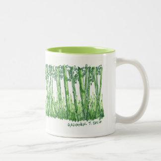 Bamboo Sketch Mug