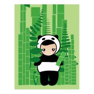 Bamboo Snack Postcard