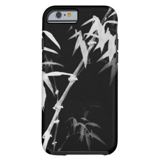 Bamboo Stalks Black-and-White l Oriental Zen Touch Tough iPhone 6 Case