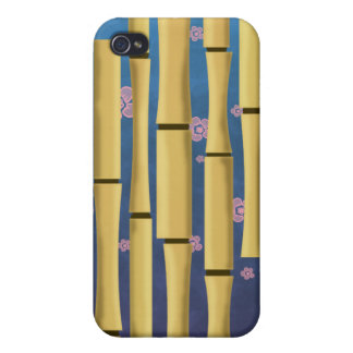 Bamboo Stripes Cover For iPhone 4