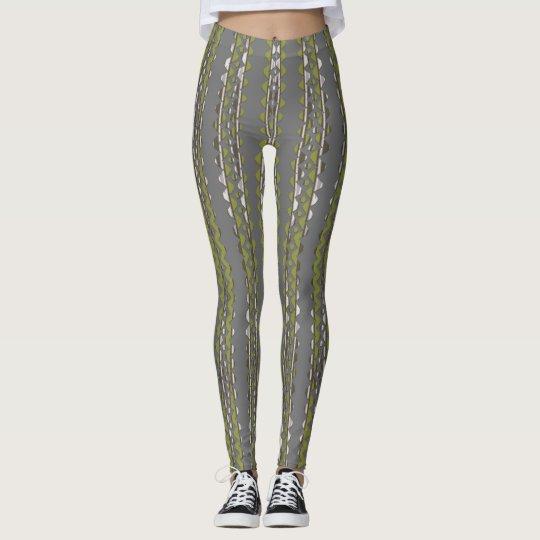 Bamboo Swirl Leggings