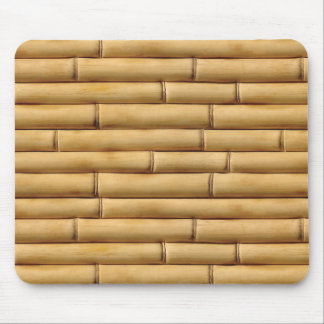 Bamboo Texture Background Mouse Pad