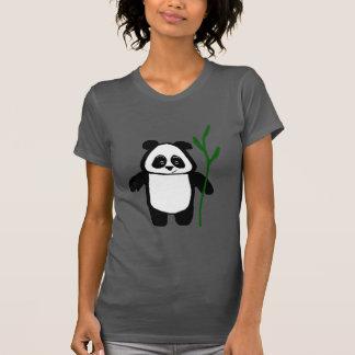 Bamboo the Panda American Apparel Ladies Tshirt