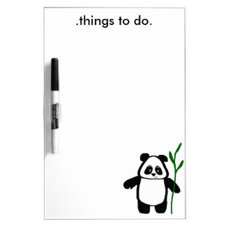 Bamboo the Panda Dry Erase Board