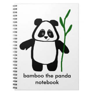 Bamboo the Panda Notebook