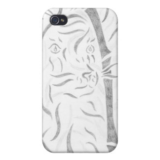 Bamboo Tiger iPhone 4/4S Cases