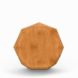 Bamboo Toast Wood Grain Look