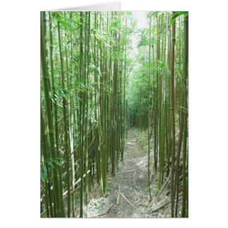 Bamboo Trail Card