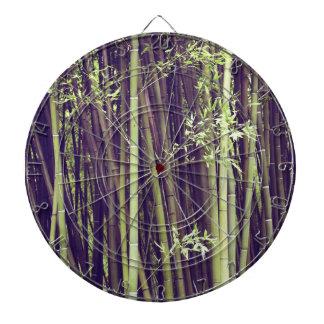 Bamboo trees dartboard