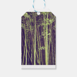 Bamboo trees gift tags