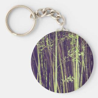 Bamboo trees keychain