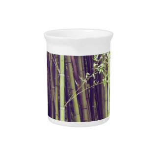Bamboo trees pitcher