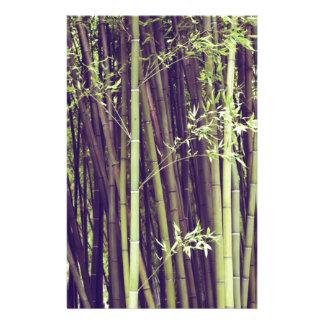 Bamboo trees stationery
