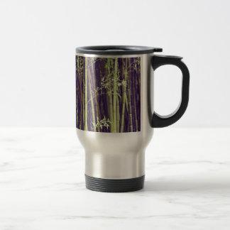 Bamboo trees travel mug