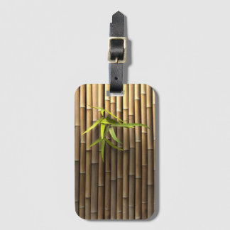 Bamboo Wall Luggage Tag