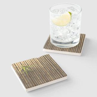 Bamboo Wall Stone Coaster