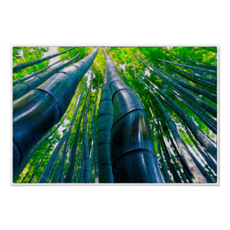 Bamboo Watercolour - Art Print